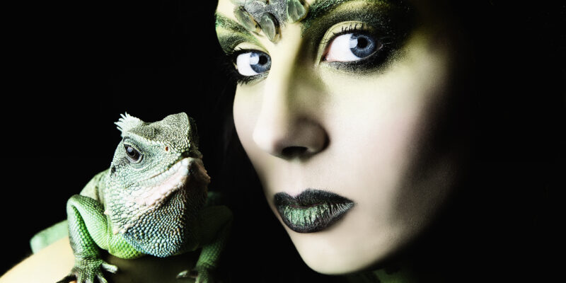reptilian encounter with a shapeshifter dating as a woman